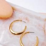 Σκουλαρίκια Golden Hoops