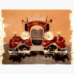 Ξύλινο Κουτί Antique Car