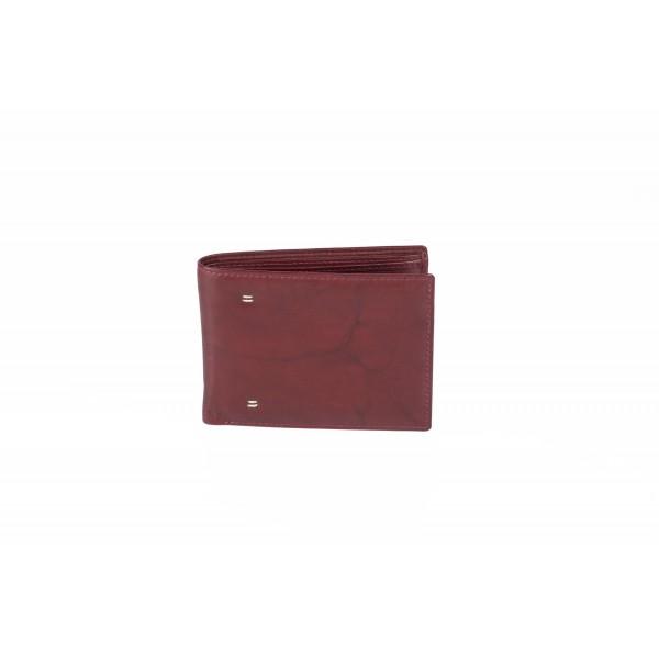 Ανδρικό δερμάτινο πορτοφόλι Fetiche An 5-983 r.brown